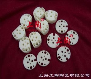 99% Alumina Ceramic Multi-Hole Round Plate pictures & photos