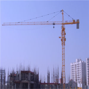 Tower Crane Stationary Type Made in China by Hsjj Qtz5613 pictures & photos