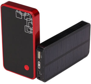 Solar Charger with 3000mAh Battery for Mobile Phones Jy-1085s
