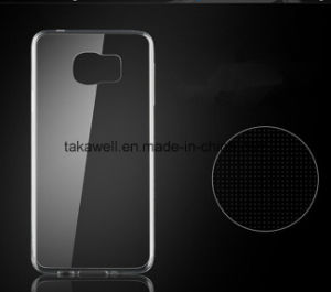 Mobile Phone Accessories 0.3mm Ultrathin Crystal Clear Soft TPU Phone Case for Samsung Galaxy S6/S6 Edge pictures & photos
