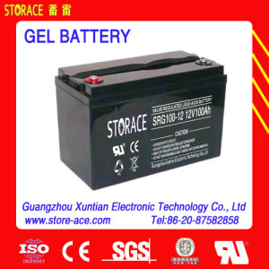 Gel 12V100ah Sealed Lead Acid Deep Cycle Battery pictures & photos