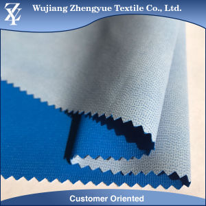 Polyester Dobby Stretch Moisture Wicking Fabric with Breathable TPU Lamination pictures & photos