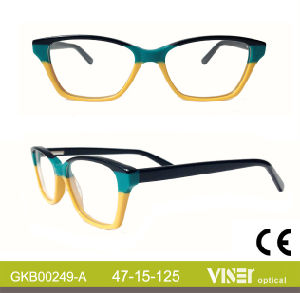 Fshion New Style Kids Handmade Optical Frames (249-C) pictures & photos