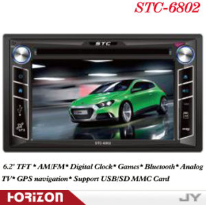 Car Audio 2 DIN Car DVD Player Stc-6802 DVD Player Navigation, DVD Auto
