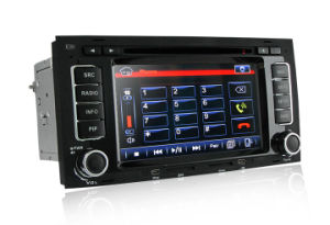 Vw Touareg Car DVD Player with GPS Navigation System