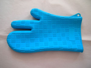 Silicone Heat Resistant Gloves Oven Glove Home Kitchen Cookie Appliance