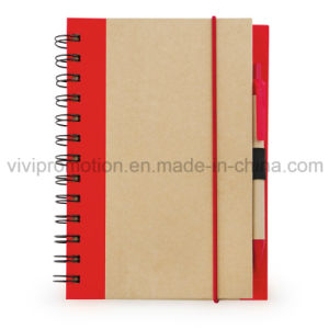 Popular Craft Paper Notebook with Pen for Daily Use (SNB119) pictures & photos
