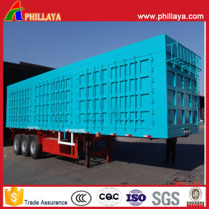 3 Axles 60 Tons Van Semi Trailer in Truck Trailer pictures & photos