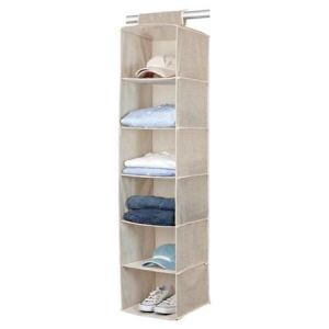 Great Collection Beige 6-Shelf Sweater Organizer