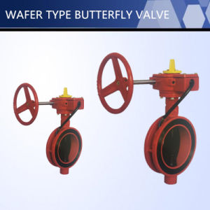 UL FM Approved Wafer Type Butterfly Valve pictures & photos