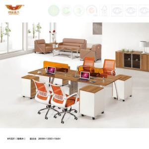 Modern Office Furniture 4 Person Seats Modular Workstation (HY-Z21) pictures & photos