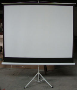 Best Tripod Projection Screen Projector Screen pictures & photos