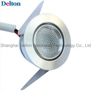 1W Round Dimmable Mini LED Cabinet Light (DT-CGD-007) pictures & photos