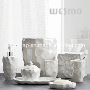 Organic Porcelain Bathroom Accessories (WBC0845A) pictures & photos