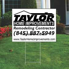 Advertising Banner Garden Banner Real Estate Banner Custom Printed Political Yard Sign pictures & photos