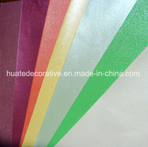 Various Color Melamine Paper with Color Metallic for Furniture pictures & photos