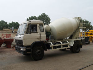 Wheel Concrete Mixer, Mobile Concrete Truck, 8cbm pictures & photos