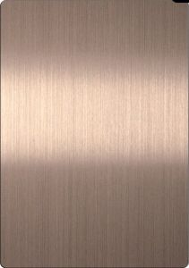 Stainless Steel Hairline Bronze Sheet pictures & photos