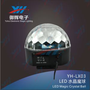 Disco RGB Crystal LED Magic Ball Light for DJ Clubs Stage Effect Lighting pictures & photos