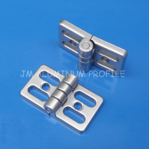Zn Alloy Universal Hinges for Aluminum Profile pictures & photos
