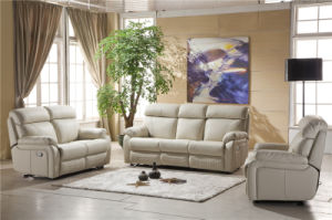 Electric Recliner Sofa USA L&P Mechanism Sofa Down Sofa (841#) pictures & photos
