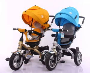 2016 New Model Design Baby Tricycle Steel Frame pictures & photos