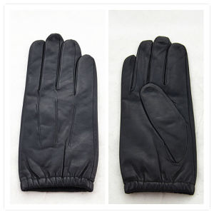 Lady Fashion Leather Gloves (JYG-25089) pictures & photos