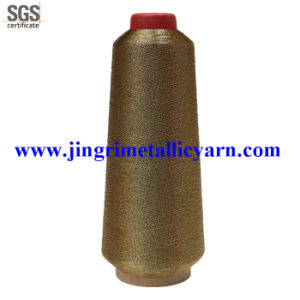 Metallic Embroidery Yarn with 150d Polyester Core pictures & photos