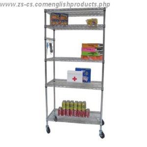 DIY Epoxy Home Metal Wire Rack Shelf/Shelving Unit pictures & photos