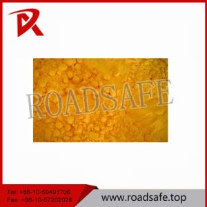 White and Yellow Traffic Line Thermoplastic Road Marking Paint pictures & photos