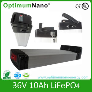 36V 10ah LiFePO4 Lithium E-Bike Battery Pack pictures & photos