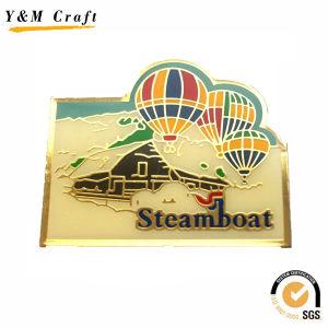 Soft PVC Type Promotion Coat Lapel Pin Ym1103 pictures & photos