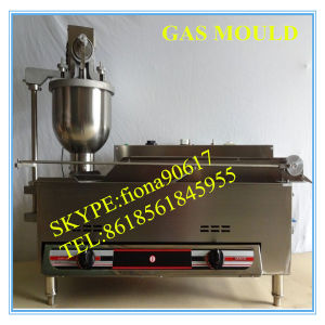 Industrial Gas Donut Forming and Fryer Machine pictures & photos