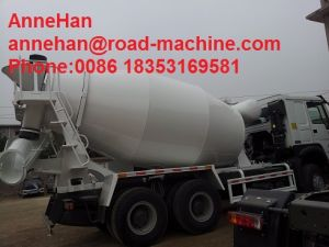 Sinotruk HOWO Brand Concrete Mixing Truck 8cbm 371 HP Euroii Italy Pto pictures & photos