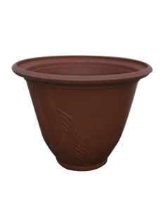 Eco-Friendly Recycled Plastic Flower Pot/Garden Planter (10EDA35)