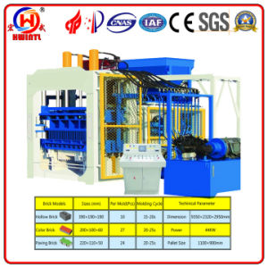 Qt 10-15 Automatic Block Making Machine/Hydraulic Brick Making Machine for Sale/Paver Laying Machine