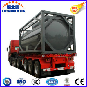 40FT Chemical Fuel Oil Liquid Storage ISO Steel Tank Container pictures & photos