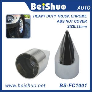 Wheel Lug Nut Chrome Plastic 33mm Thread on Spike Lug Nut Cover pictures & photos