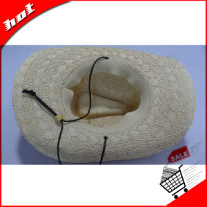 Paper Straw Cowboy Hat Fashion Straw Knitted Hat pictures & photos