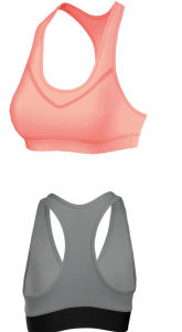 Dry Fit Nylon Polyester Spandex Custom Sports Bra/ Women Fitness Bra pictures & photos