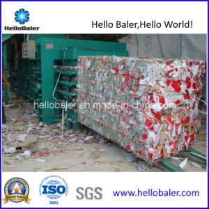 Hellobaler Semi-Automatic Horizontal Baler for Paper Mill pictures & photos