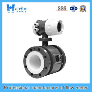 Black Carbon Steel Electromagnetic Flowmeter Ht-0294 pictures & photos
