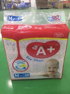 my A+ Brand Baby Diapers pictures & photos