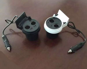 Cigarette Lighter Car Charger 1 Male to 2 Female pictures & photos
