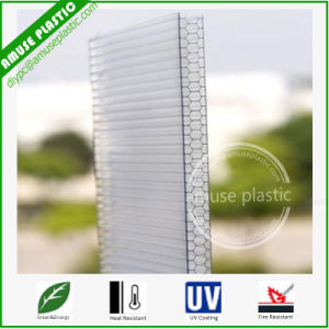 Airport Roof Cover PC Honeycomb Sheet Plastic Polycarbonate Honeycomb Panel pictures & photos