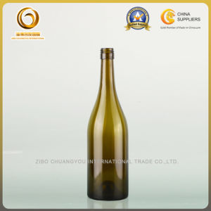 Professional 750ml Burgundy Wine Glass Bottle with Screw Cap (321) pictures & photos