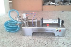 Plf2500 300-2500ml Single Head Liquid Filling Machine