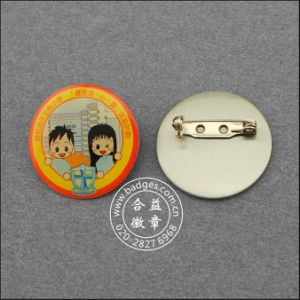 School Badge, Custom Cute Metal Lapel Pin (GZHY-LP-026) pictures & photos