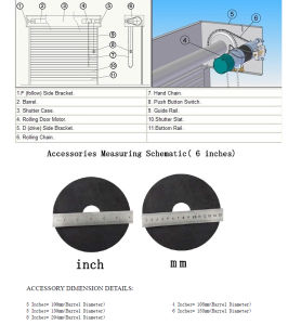 Electric AC Rolling Door Motor for Roller Shutter pictures & photos