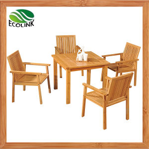 Bamboo Table and Chair / Bamboo Furniture Set pictures & photos